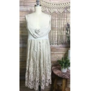 Anthropologie Rare Left of Center  Lace Dress